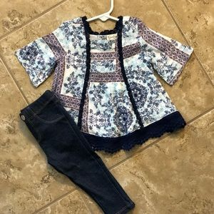 Jessica Simpson girls outfit